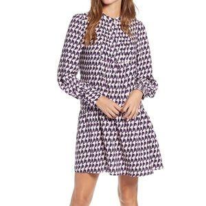 Halogen Pintuck Detail Shift Dress XL NWT
